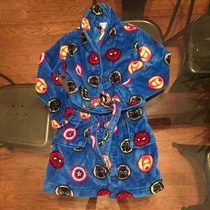 Other - Avengers boy's fleece robe size 8